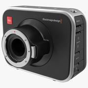 Blackmagic Production Camera 3d model