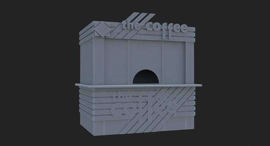 커피 샵 royalty-free 3d model - Preview no. 9
