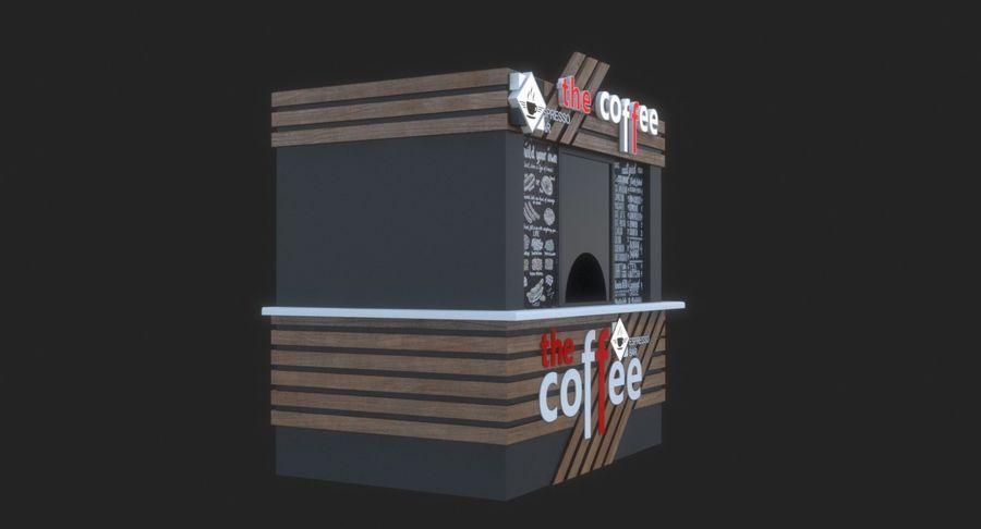 커피 샵 royalty-free 3d model - Preview no. 5