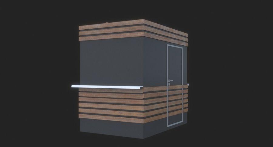커피 샵 royalty-free 3d model - Preview no. 7
