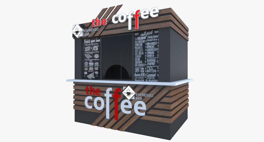 커피 샵 royalty-free 3d model - Preview no. 2