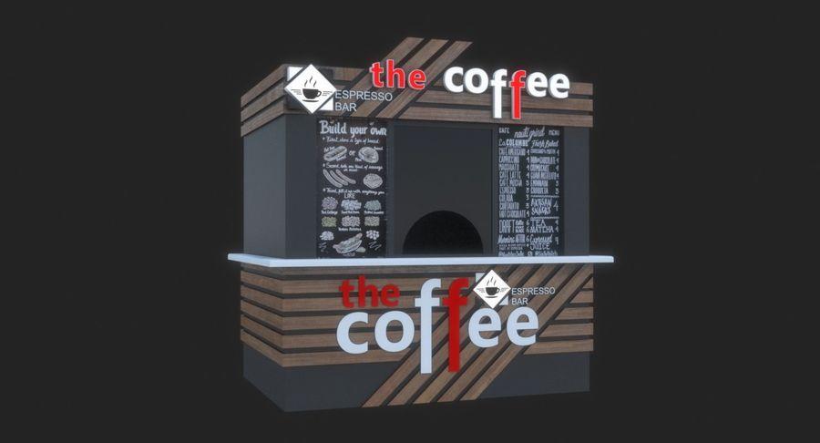 커피 샵 royalty-free 3d model - Preview no. 4