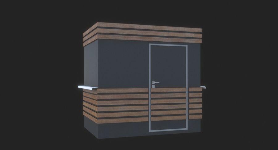 커피 샵 royalty-free 3d model - Preview no. 6