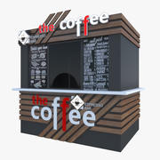 Kawiarnia 3d model