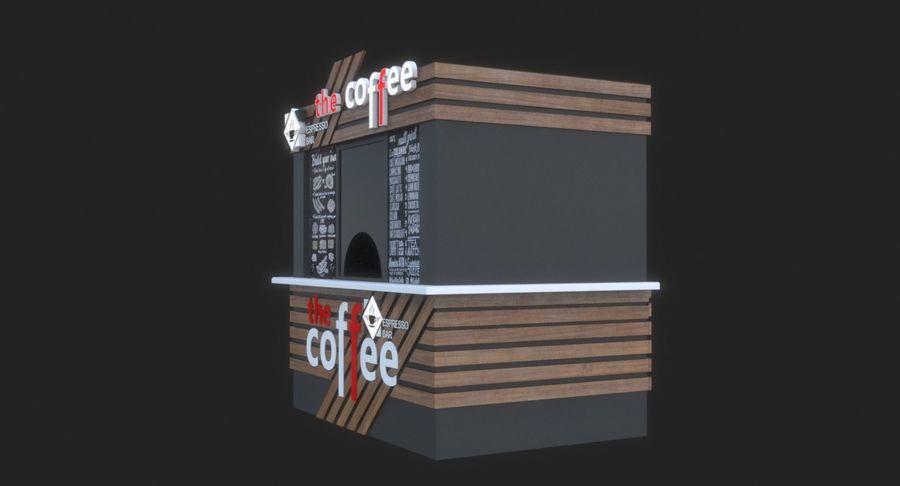 커피 샵 royalty-free 3d model - Preview no. 8