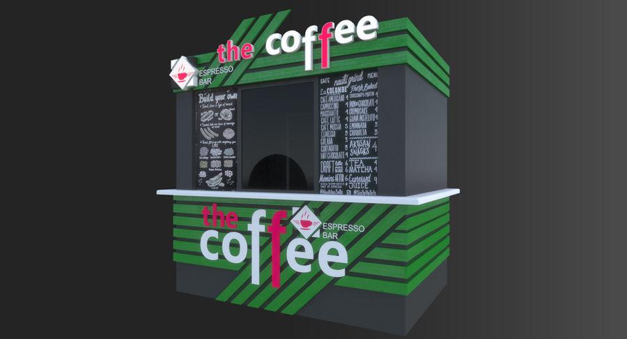 Kafé royalty-free 3d model - Preview no. 3