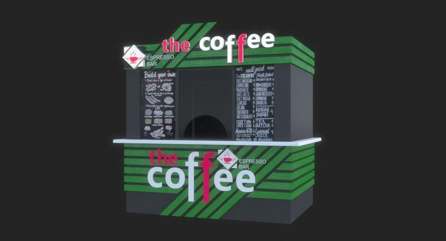 Kafé royalty-free 3d model - Preview no. 8