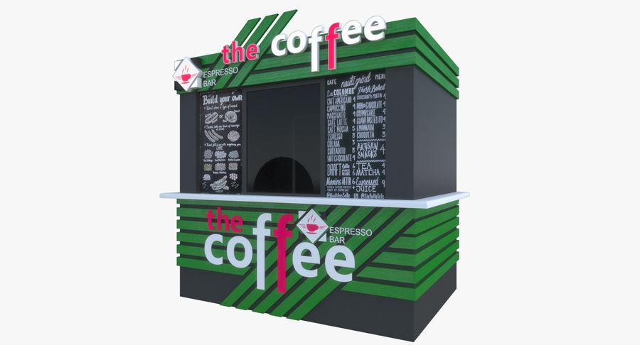 Kafé royalty-free 3d model - Preview no. 2