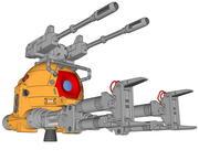 RB-79 Sfera tipo K 3d model