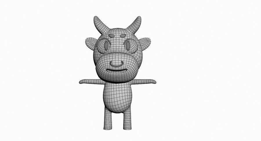Cartoon Animal Character Pack royalty-free 3d model - Preview no. 16