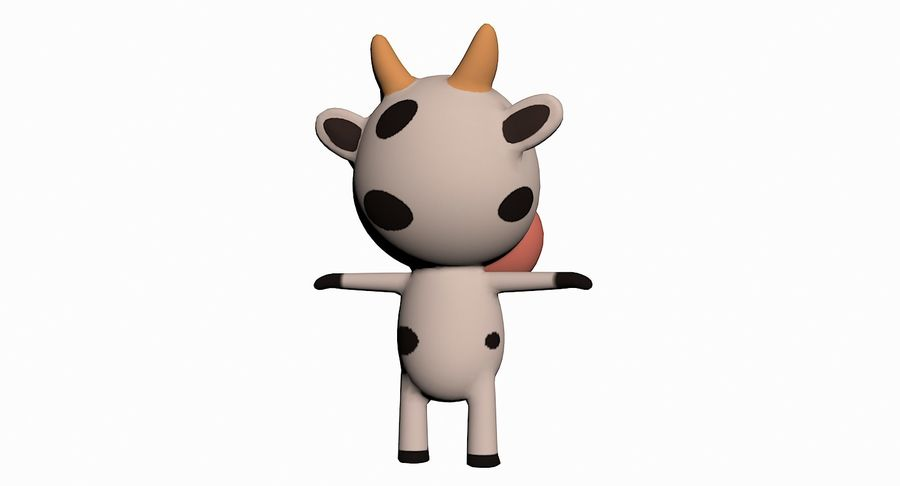 Cartoon Animal Character Pack royalty-free 3d model - Preview no. 29