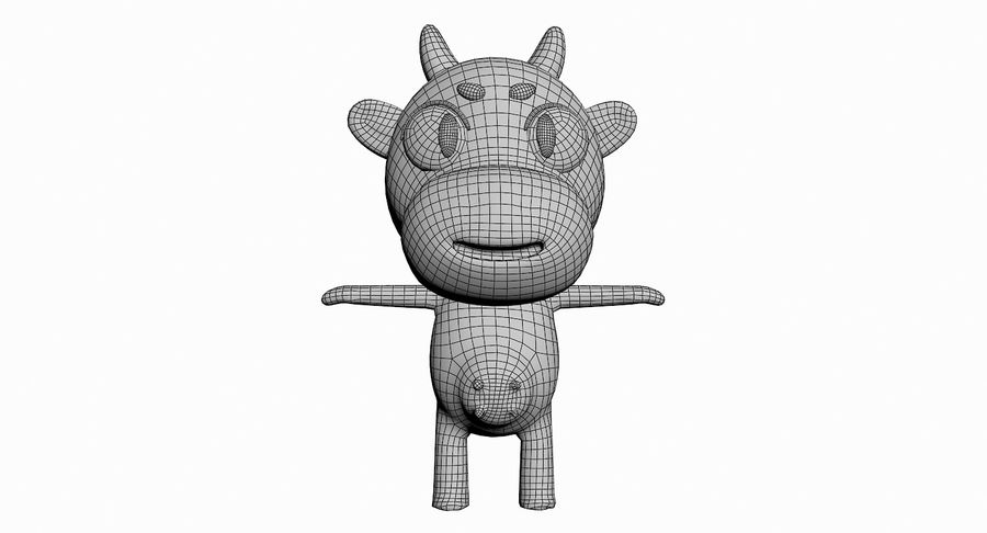 Cartoon Animal Character Pack royalty-free 3d model - Preview no. 32