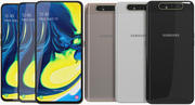 Samsung Galaxy A80 All Colors (Animated) 3d model