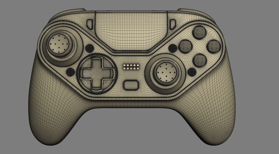Astro C40 TR Controller royalty-free 3d model - Preview no. 18