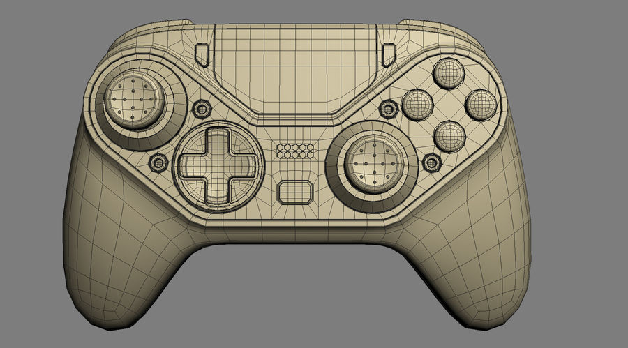 Astro C40 TR Controller royalty-free 3d model - Preview no. 16