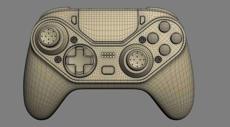 Astro C40 TR Controller royalty-free 3d model - Preview no. 17