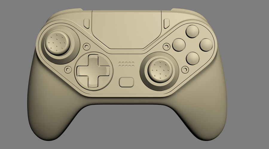 Astro C40 TR Controller royalty-free 3d model - Preview no. 15