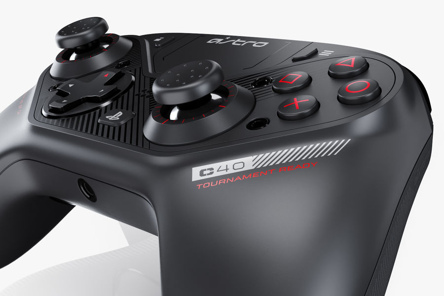 Astro C40 TR Controller royalty-free 3d model - Preview no. 13
