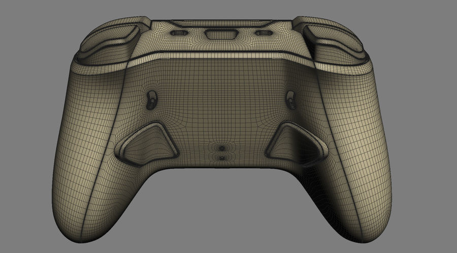 Astro C40 TR Controller royalty-free 3d model - Preview no. 22