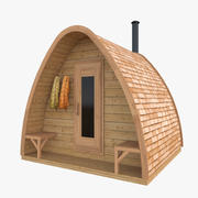 Sauna Bölmesi 3d model