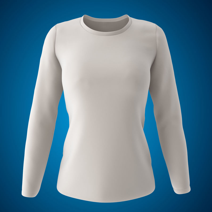 Model 3D T-shirt męski i okrągły royalty-free 3d model - Preview no. 8