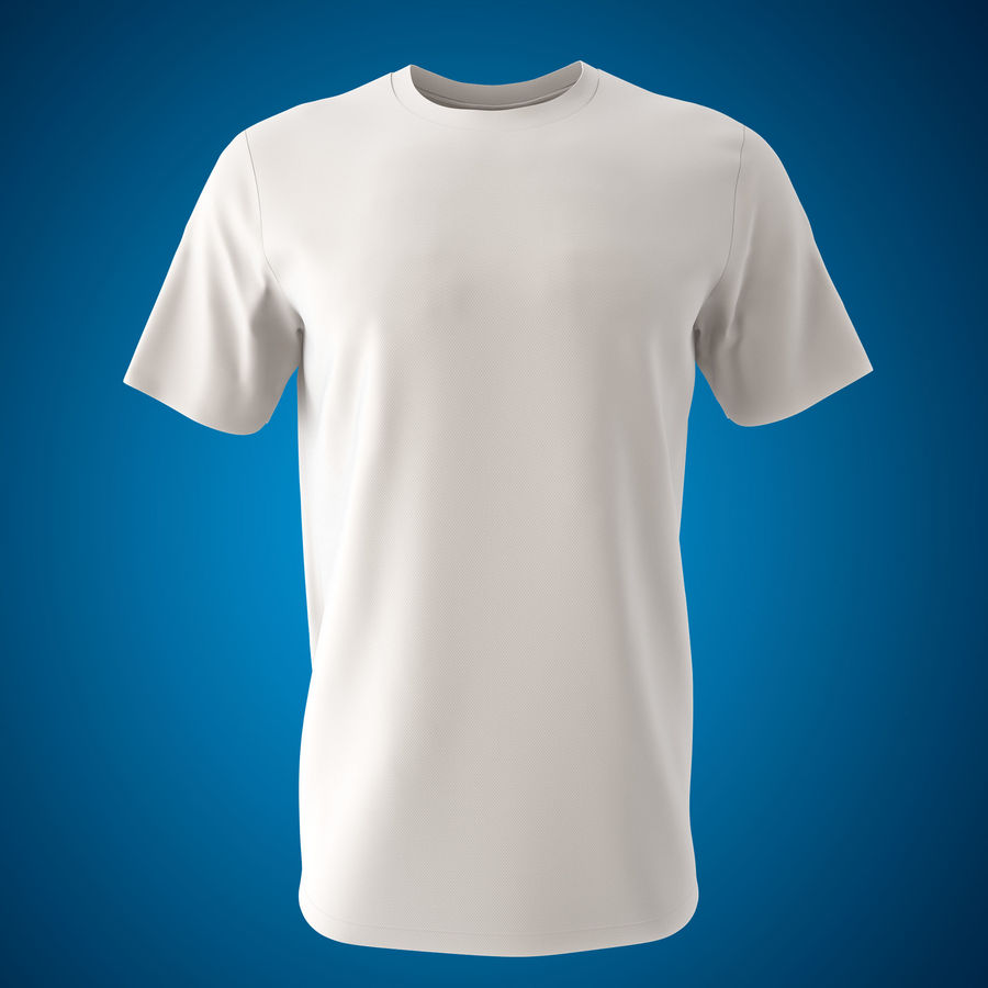 Model 3D T-shirt męski i okrągły royalty-free 3d model - Preview no. 5