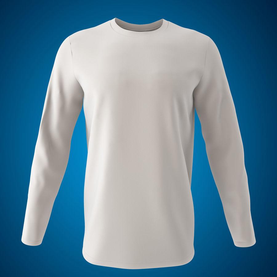 Model 3D T-shirt męski i okrągły royalty-free 3d model - Preview no. 2