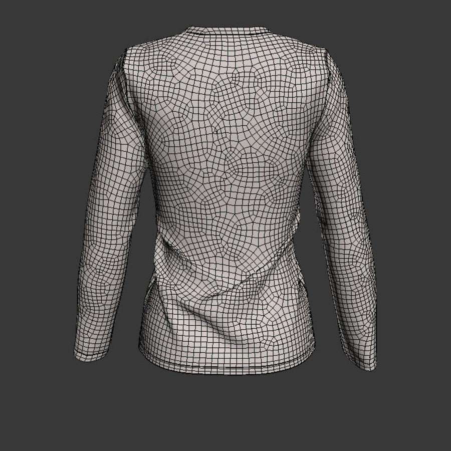Model 3D T-shirt męski i okrągły royalty-free 3d model - Preview no. 10