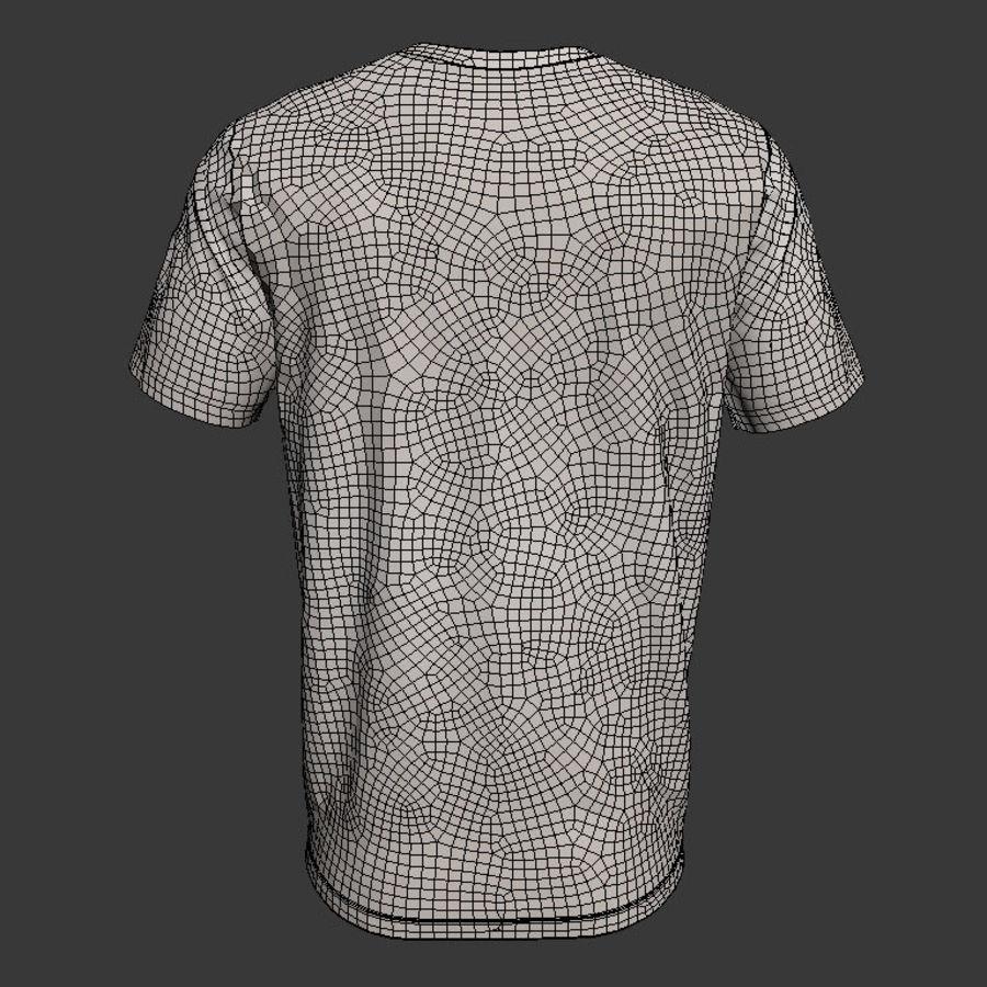 Model 3D T-shirt męski i okrągły royalty-free 3d model - Preview no. 7