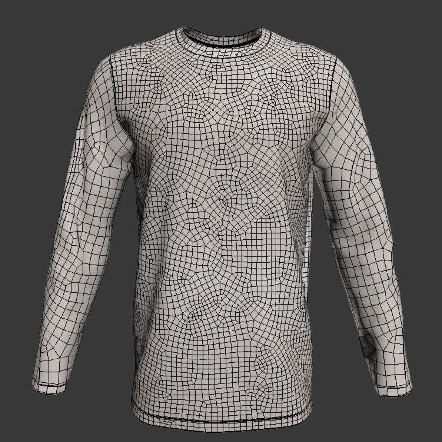 Model 3D T-shirt męski i okrągły royalty-free 3d model - Preview no. 3