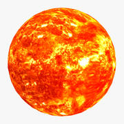 The Sun 4K 3d model