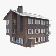 Maison de ville 3d model