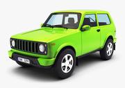 Generic Compact SUV v 1 3d model