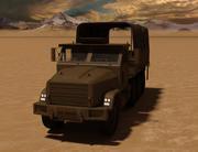 Militär lastbil 3d model