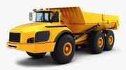 Caminhão articulado genérico v 1 3d model