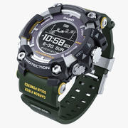 Casio G-Shock Rangeman GPR B1000 хаки 3d model