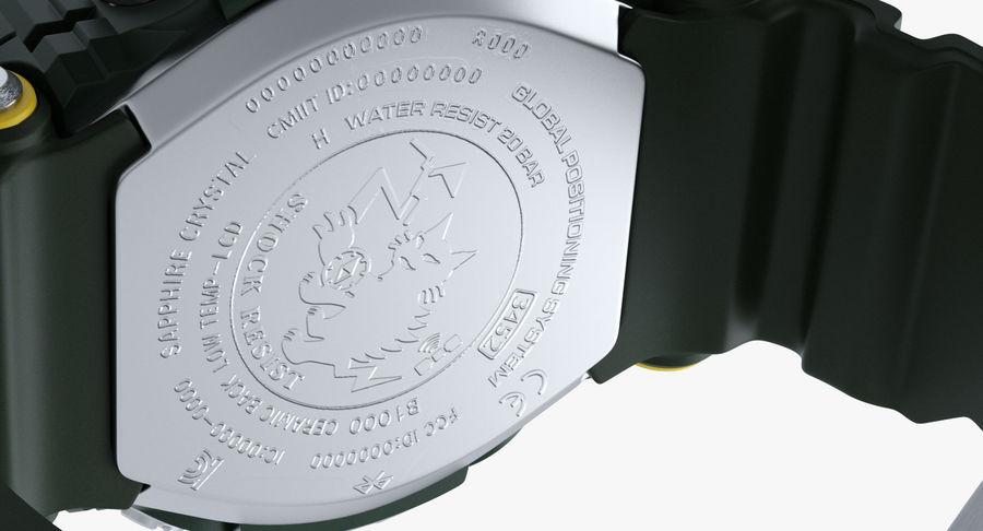 Водонепроницаемый Спорт Военные Часы Ударопрочный royalty-free 3d model - Preview no. 10