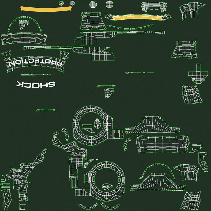 Водонепроницаемый Спорт Военные Часы Ударопрочный royalty-free 3d model - Preview no. 17