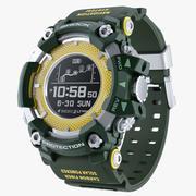 Водонепроницаемый Спорт Военные Часы Ударопрочный 3d model