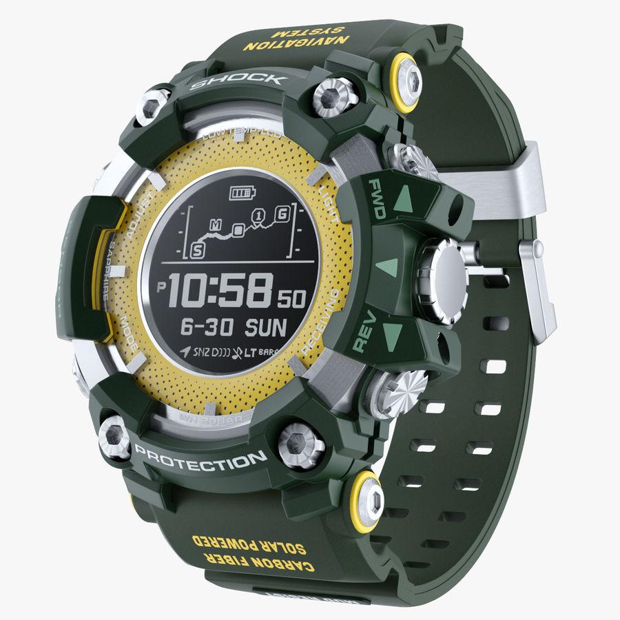 Водонепроницаемый Спорт Военные Часы Ударопрочный royalty-free 3d model - Preview no. 1