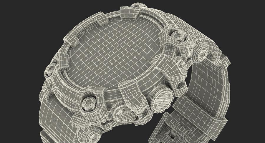 Водонепроницаемый Спорт Военные Часы Ударопрочный royalty-free 3d model - Preview no. 22
