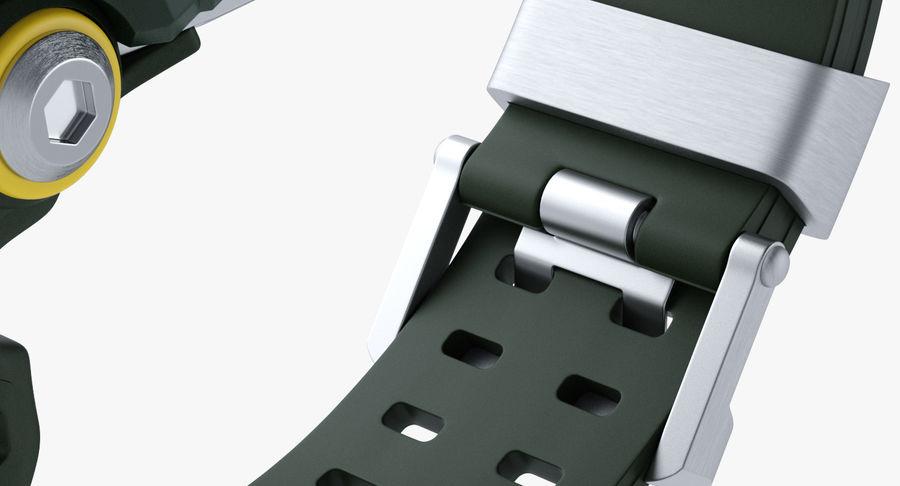 Водонепроницаемый Спорт Военные Часы Ударопрочный royalty-free 3d model - Preview no. 11