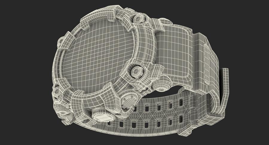 Водонепроницаемый Спорт Военные Часы Ударопрочный royalty-free 3d model - Preview no. 28