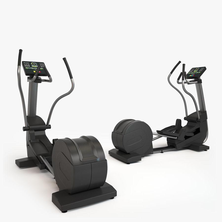 Gym Equipment royalty-free 3d model - Preview no. 12