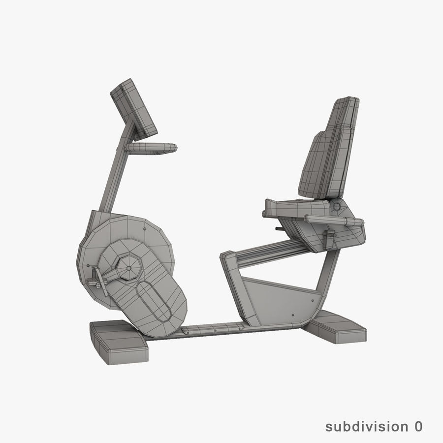 Gym Equipment royalty-free 3d model - Preview no. 32