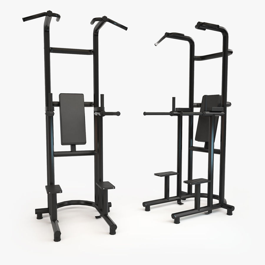 Gym Equipment royalty-free 3d model - Preview no. 7