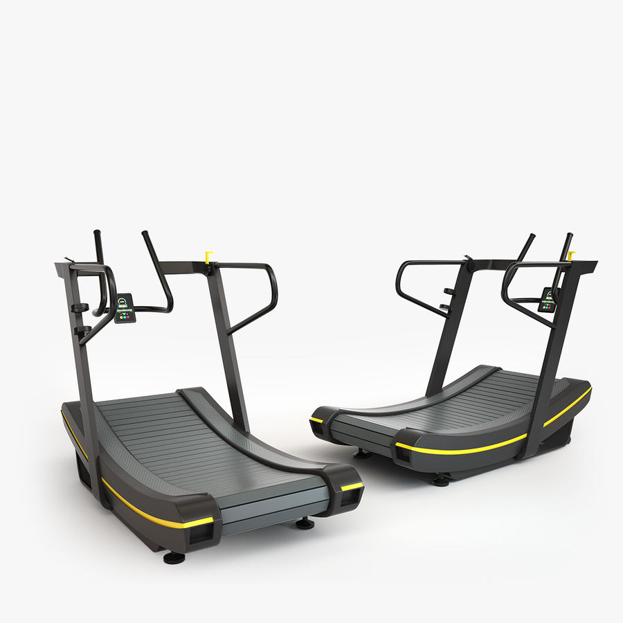 Gym Equipment royalty-free 3d model - Preview no. 8