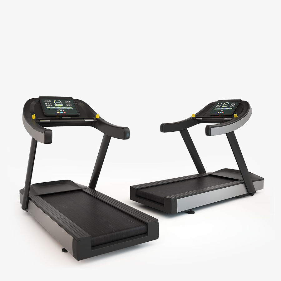 Gym Equipment royalty-free 3d model - Preview no. 9