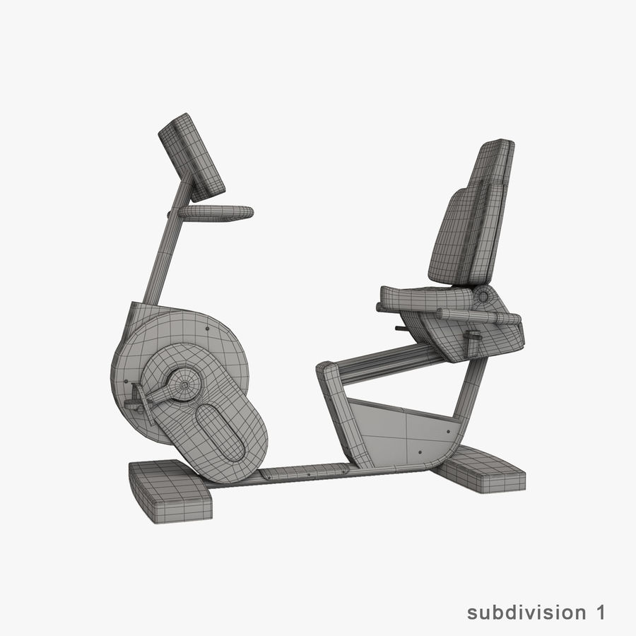 Gym Equipment royalty-free 3d model - Preview no. 33