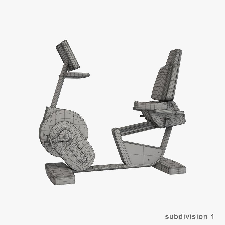 Wyposażenie siłowni royalty-free 3d model - Preview no. 33